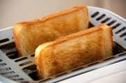 Toast Slices Of Toast Toaster Eat White Bread Food